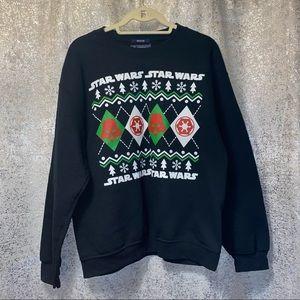 Star Wars American Rag ugly Christmas Sweatshirt